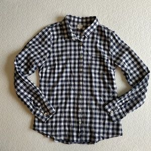 "J. Crew ""The Perfect Shirt"" 100% Cotton"